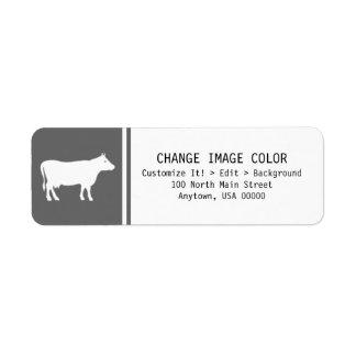 Cattle - Return Address Label