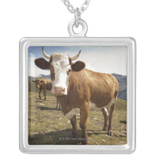 Cattle Silver Plated Necklace