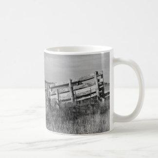 Cattle Yard Basic White Mug