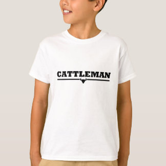 Cattleman Steer Print T-Shirt