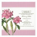 Cattleya Pink Orchid Wedding Invitation