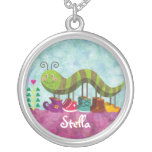 Catty Caterpillar Customisable Necklace