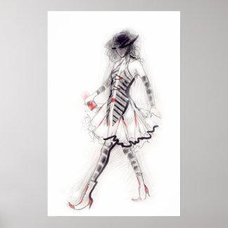 Catwalk Print