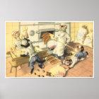 CATWALKS: Ballyhoo at the Bakers   Poster Art