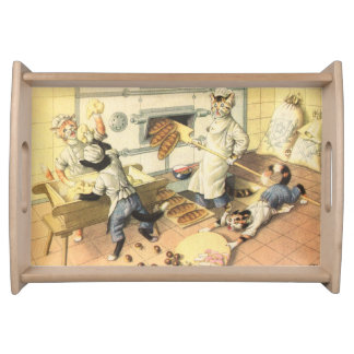 CATWALKS: Ballyhoo at the Bakers - Small Tray Serving Platter