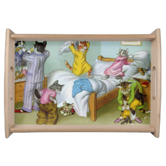 CATWALKS: Bedlam at Bedtime - Small Tray Serving Trays