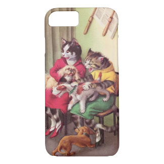 CATWALKS: Bulldog at Barbers-Barely iPhone 7 Case