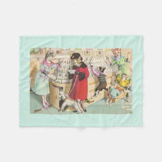 CATWALKS: Card Buying Chaos - Fleece Blanket