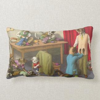 CATWALKS: Tailors Troubles  Poster Art Semigloss Lumbar Pillow