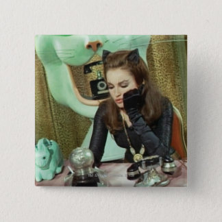 Catwoman 15 Cm Square Badge