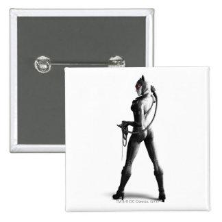 Catwoman 15 Cm Square Badge