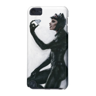 Catwoman Illustration iPod Touch (5th Generation) Cases