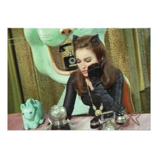 Catwoman Personalized Invites