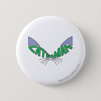 Catwoman Logo Green 6 Cm Round Badge