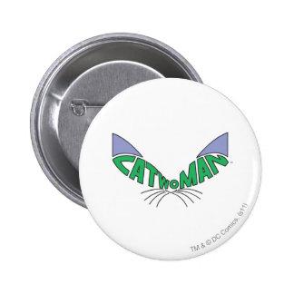 Catwoman Logo Green 6 Cm Round Badge