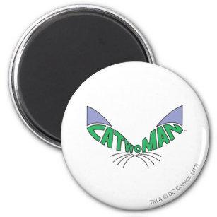 Catwoman Logo Green Magnet
