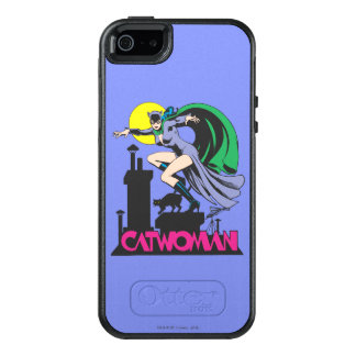 Catwoman & Logo Pink OtterBox iPhone 5/5s/SE Case
