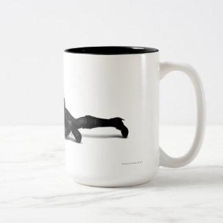 Catwoman Lurking Two-Tone Mug