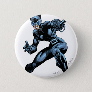 Catwoman with Whip 6 Cm Round Badge