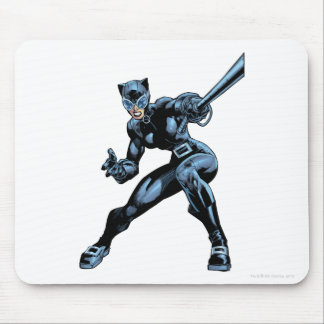 Catwoman with Whip Mousepads