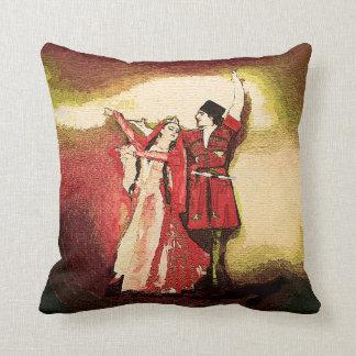 Caucasian Dancers 1 Cushion
