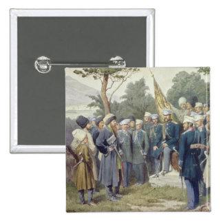 Caucasian Leader Shamil 15 Cm Square Badge