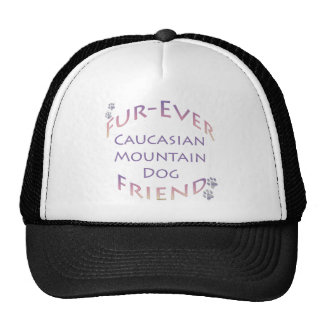 Caucasian Mountain Dog Furever Trucker Hats
