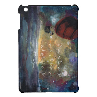 Caught in a Gust-custom illustrated iPad Mini Case iPad Mini Covers