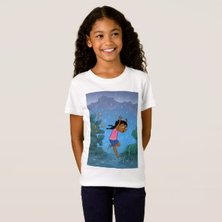 Caught in the Rain design T shirt