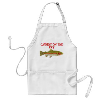 Caught on the Fry Standard Apron
