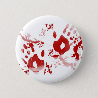 Caught Red Handed 6 Cm Round Badge