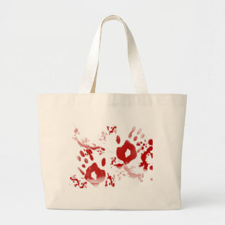 Caught Red Handed Large Tote Bag
