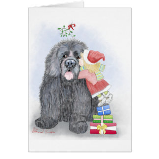 Caught Under the Mistletoe Greeting Card