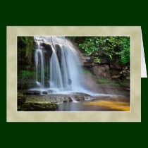 Cauldron Falls, West Burton -  The Yorkshire Dales Card
