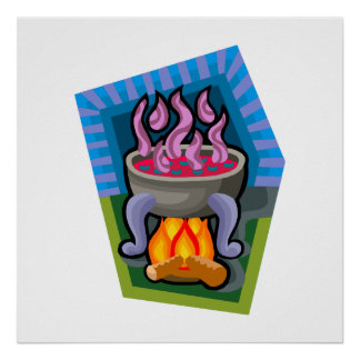 Cauldron Print