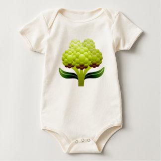Cauliflower Baby Bodysuit