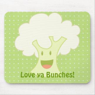 Cauliflower Bunch Mouse Pad