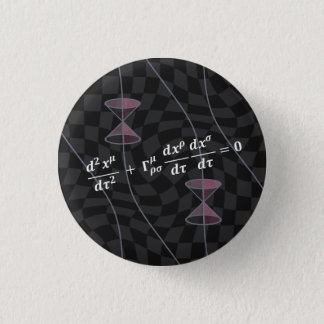 Causality in the Relativity Theory (type 2S) 3 Cm Round Badge