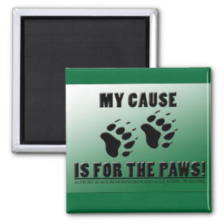 Cause for the Paws Magnet