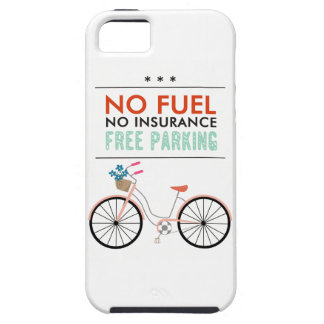 CAUSES GO GREEN BICYCLING BENEFITS NO FUEL INSURAN CASE FOR iPhone 5/5S