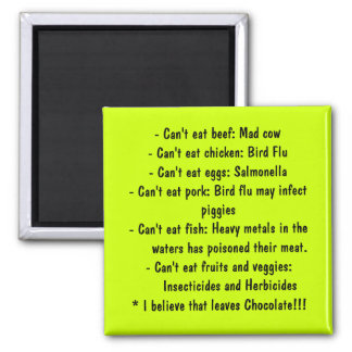 Causes - Healthy Eating Magnet