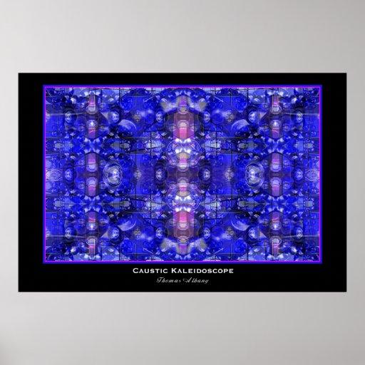 Caustic Kaleidoscope Poster