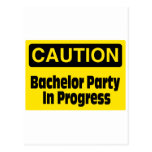 Caution Bachelor Party In Progress