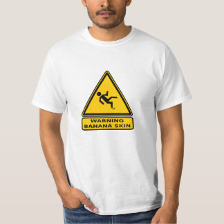 Caution: Banana Skin T-Shirt
