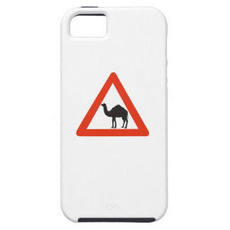 Caution Camels, Traffic Sign, United Arab Emirate iPhone 5 Case