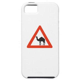 Caution Camels, Traffic Sign, United Arab Emirate iPhone 5 Case