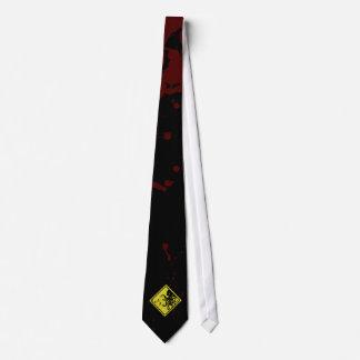 Caution Cthulhu Tie