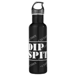 CAUTION DIP SPIT 710 ML WATER BOTTLE