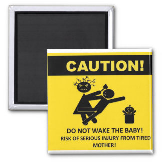 Caution Don t Wake Baby Magnet