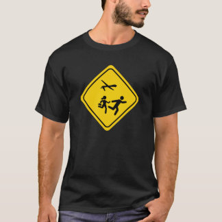 CAUTION: DRONES AHEAD T-Shirt